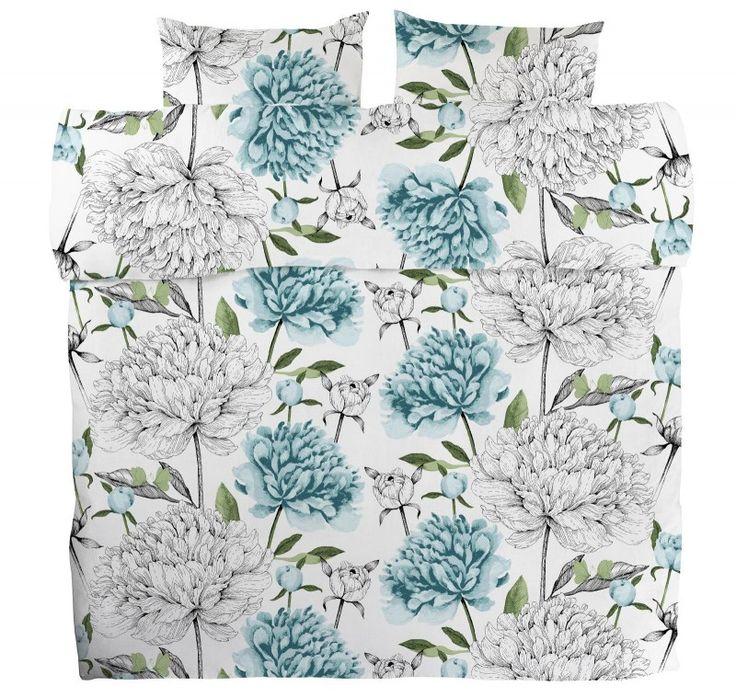 <p><span>Vanha suola -pussilakanoiden kukkakuosi on Tanja Orsjoen suunnittelema. Kuosi on näyttävä, sen muodostavat suuret ja runsaat pionit - osa täydessä kukassa, osa vasta tiiviinä nuppuna. Mielenkiintoa kuosiin tekee piir