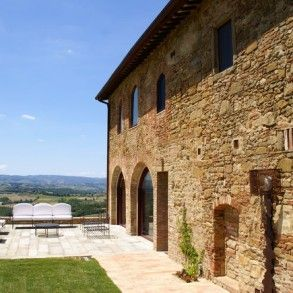 Barberino is a newly restored luxury Tuscany villa rental set in an amazing position overlooking the most scenic and unspoiled valleys of the Chianti region