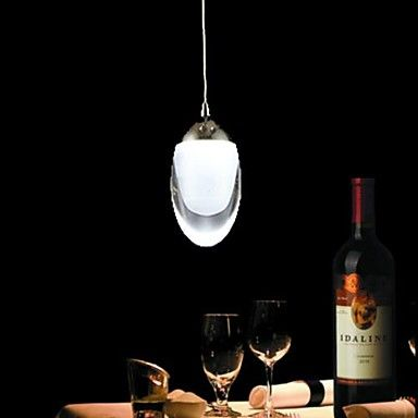 Mini Egg-Shaped Chandelier 3W  LED Warm White /Cold White for Living Room and Dining Room  – USD $ 39.99