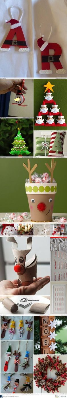 Christmas Crafts Try These out, and post your photos PLEASE:):