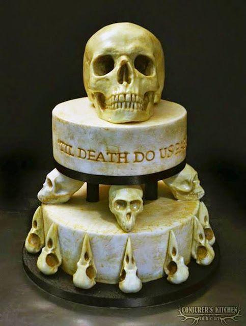 Os bolos assustadores de Annabel de Vetten. - Chiado Magazine