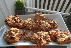 Super gezonde, calorie-arme koekjes op basis van havermout & banaan!