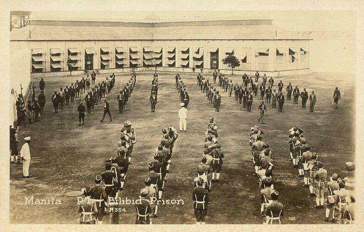 Bilibid Prison, Manila, Philippines, after liberation in