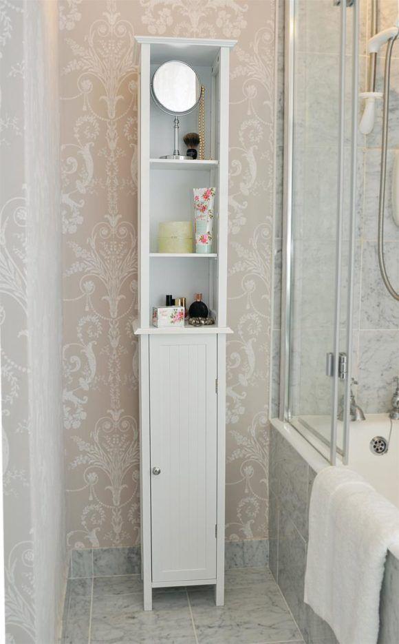 Bathroom Tall Bathroom Storage Cabinets For A Tidy Clutter Free Bathroom Designescent Fabulous Badkamer Behang Idee