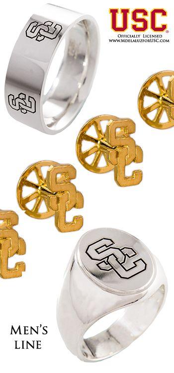 Mdelaluzforusc.com Men's Line USC Trojans accessories, SC online store, SC Trojans jewelry, USC shop online, gifts for USC fans