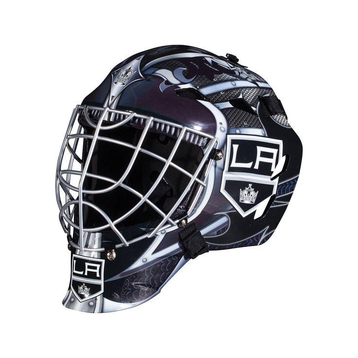 Franklin Youth Los Angeles Kings GFM 1500 Street Hockey Goalie Face Mask, Multicolor