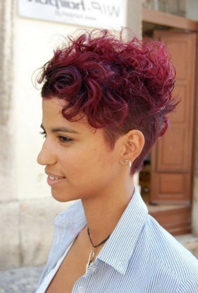 12 pretty short curly hairstyles for black women | styles weekly|curly hair shaved side|curly hair shaved side for Your own Hairstyles is Convenient to Anyone who wants Trending Center