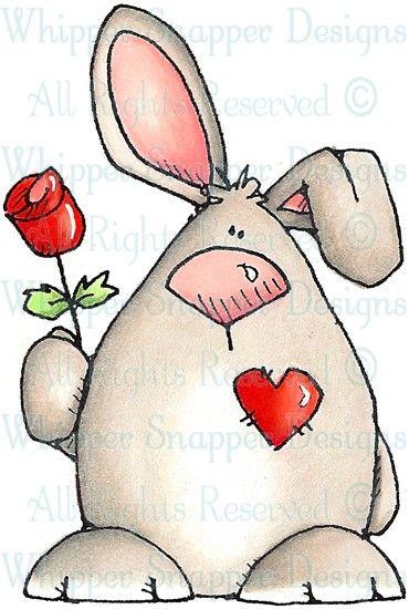 Pandora - Rabbits - Animals - Rubber Stamps - Shop