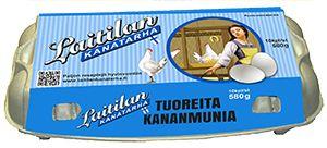 Tuoreita kananmunia! Yksi rasia maksaa alle kaksi euroa. Tästä syystä monet opiskelijat tekevät lounaansa näistä terveellisista ja ravintorikkaista kananmunista. Kymmenen munan munakas - sillä pääsee jo pitkälle!
