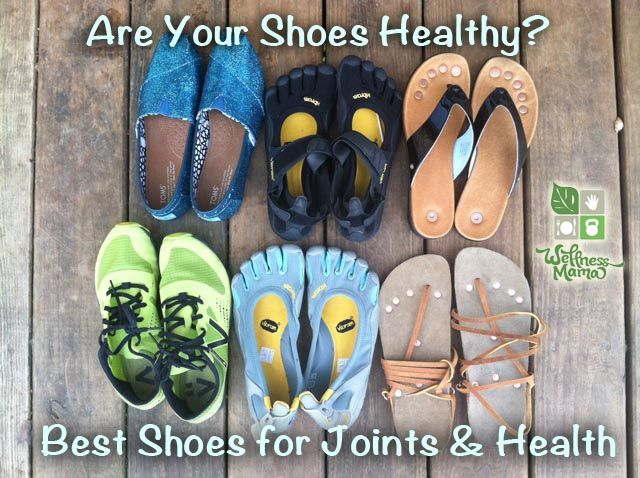 Our shoes can often do more harm than good. Our footwear options can affect us more than we realize! As nothing in the body exists in isolation, altering a person's walking pattern will have an impact on joints above the foot (mainly knee and hip) as well.  http://wellnessmama.com/8264/healthy-shoes/#