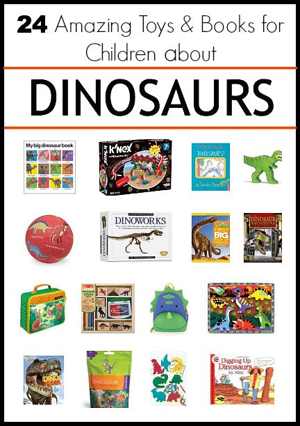 Perfect book set for any dinosaur loving children! 24 Amazing DINOSAUR Books & Toys for Children~ Buggy and Buddy