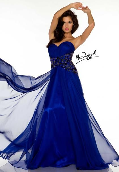 MacDuggal Couture Dress 64528D at Peaches Boutique