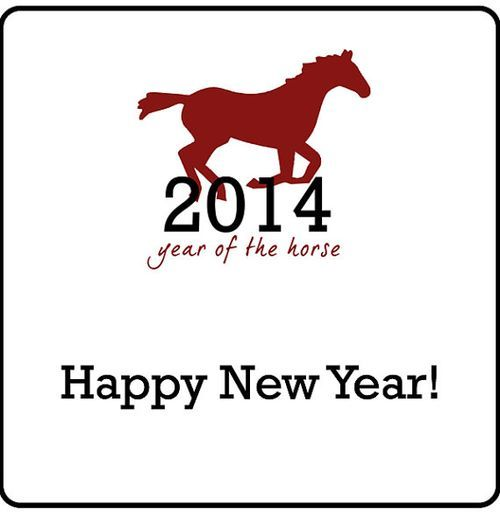 Happy Chinese New Year 2014, The Year of the Horse!