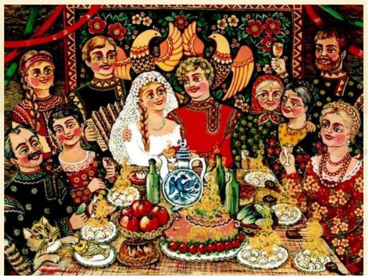 Традиционные русские свадебные блюда