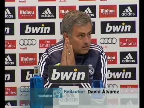 Video Real Madrid  Alcoyano: Rueda de prensa de Mourinho