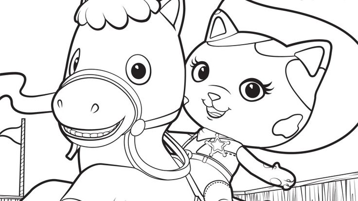 Coloring Pages Disney Junior : Disney junior callie coloring pages