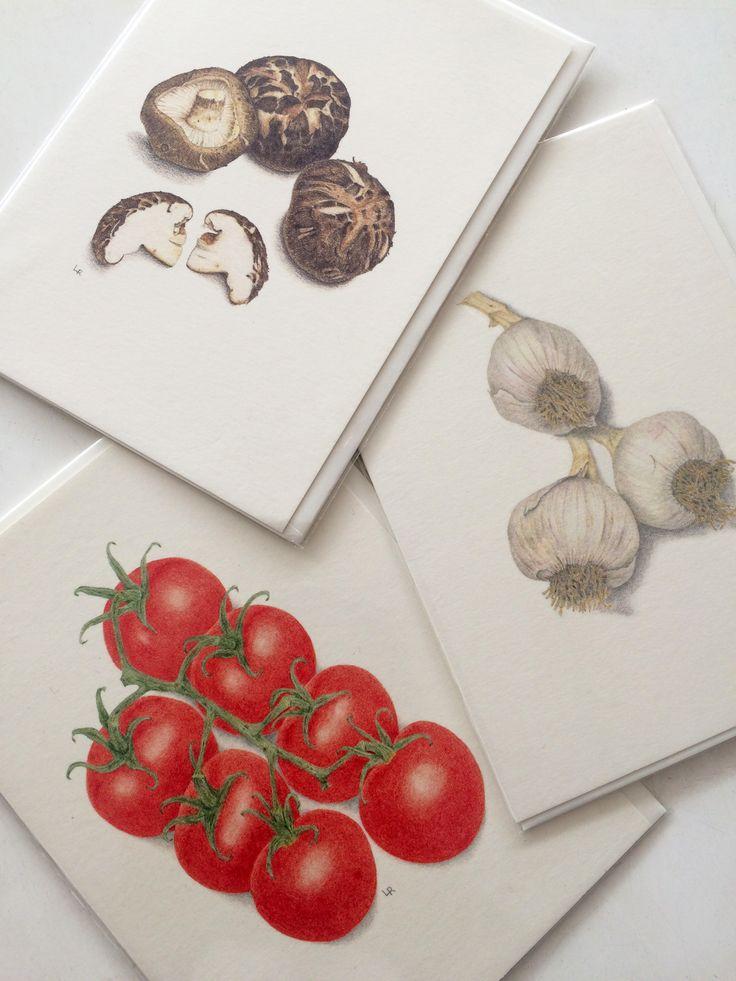 The perfect cards for your foodie friends // Leonie A. Ryder
