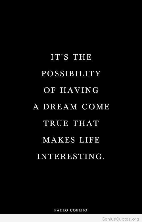 Make life interesting