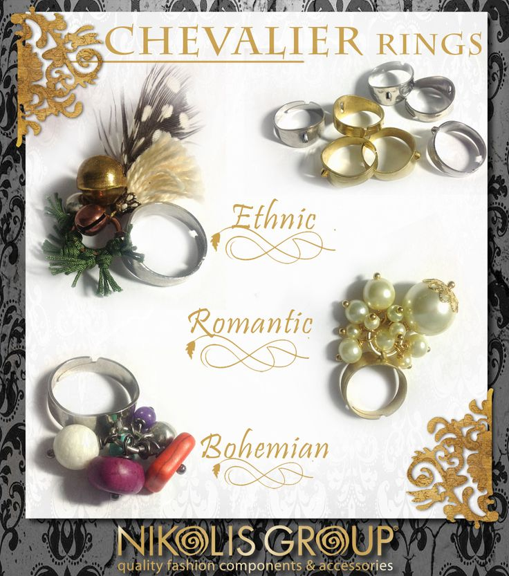 Always chic, always classy, a precious ring women love to wear! Order now our brass chevalier rings and create your own ones!The only thing you need is fantasy! Code No 78010104