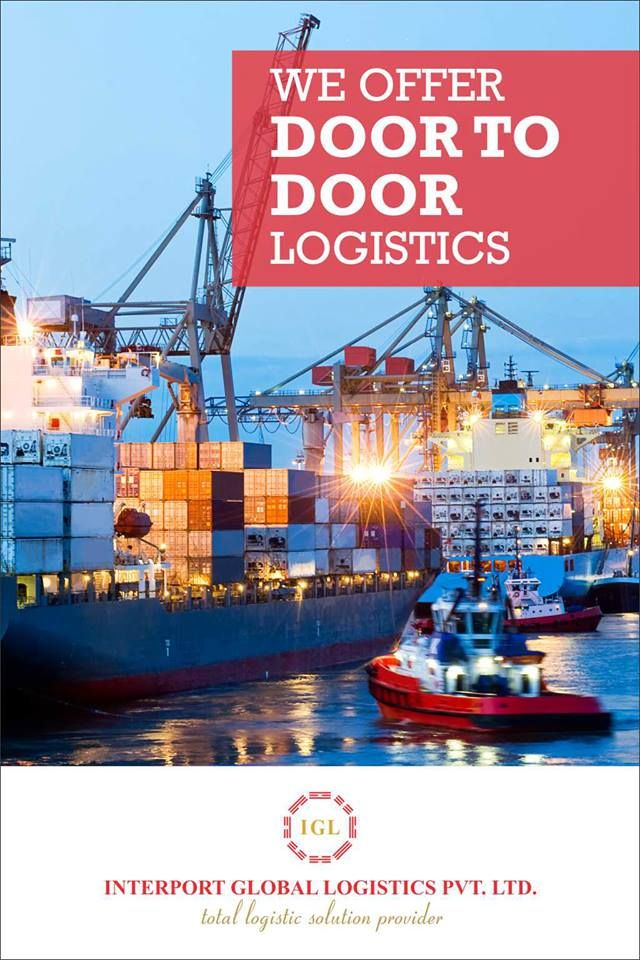 WE OFFER DOOR TO DOOR LOGISTICS