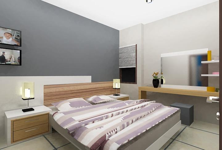 2 nd floor Bed Room View 2    Read Our Blog http://ambong.com/Blog/review/membeli-rumah-dengan-panorama-perbukitan-yang-berhawa-sejuk-dan-tidak-jauh-dari-pusat-kota-2/