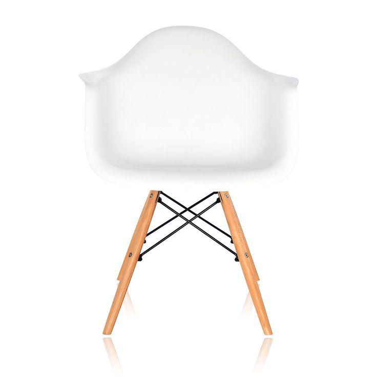 Стул Eames Style DAW светлый бук — классический представитель скандинавского стиля в интерьере. Изящная форма стула по праву считается классикой современного дизайна. Особенность данной модели — в контрастном сочетании яркого цветного пластика и светлого дерева. Экологичный полипропилен делает стул невероятно прочным, а деревянные ножки из массива бука добавляют натуральности, которая столь ценится сегодня. Модель обладает повторяющей контуры тела формой сиденья, высокой спинкой с изгибом и…