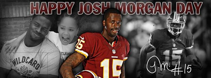 """Happy Josh Morgan Day"" Facebook cover. #HTTR #LiveIt"