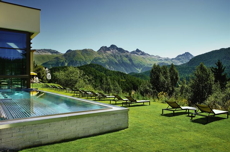 A Spa with a view - Kulm Hotel St. Moritz in St. Moritz, Graubünden, Switzerland