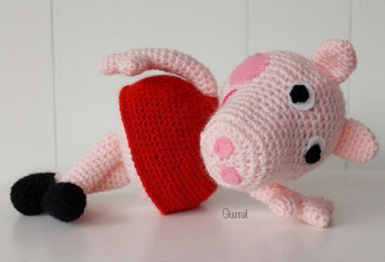 Free Amigurumi Patterns Star Wars : Peppa pig Crochet and Knit Pinterest Schweine ...