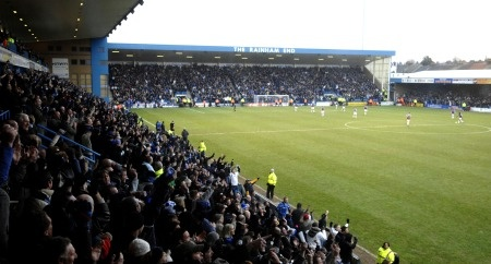Priestfield Stadium, home of the mighty Gillingham FC! Pride of Kent!