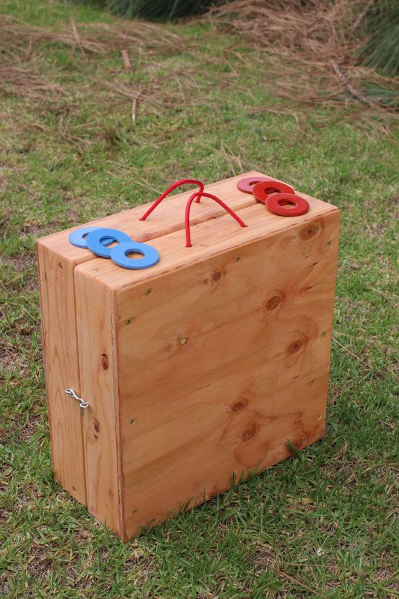 Custombuilt Washer Toss Game Set by DigaDesigns on Etsy, $60.00