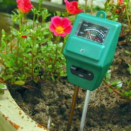 3 IN 1 pH/Moisture/Sunlight Plant Mate ETP306 - Digital Meter Indonesia