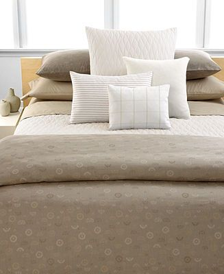 CLOSEOUT! Calvin Klein Home Studio Bedding, Samoa King Duvet Cover - Duvet Covers - Bed & Bath - Macy's