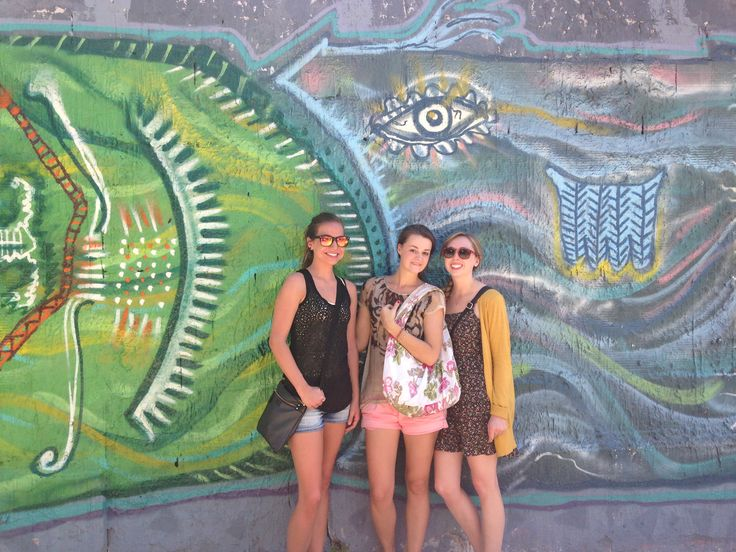 C-123 Interns on a Buenos Aires graffiti tour!