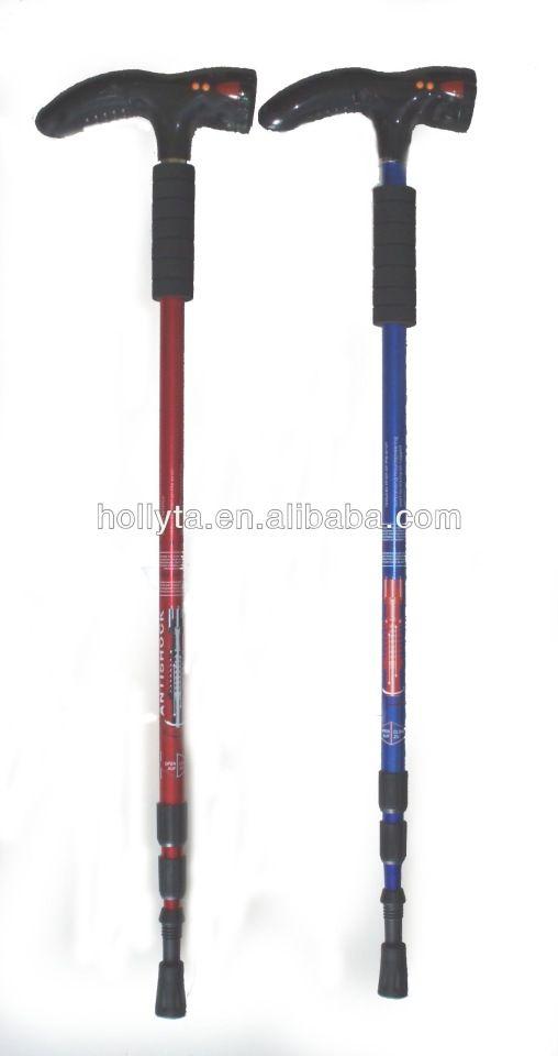 hand crutch/LED light walking stickswalki//rechargeable ng stick folding walking sticks
