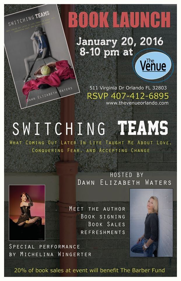 Switching Teams Book Promo January 20, 2016 The Venue Orlando. Whitney Media Productions