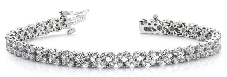 Diamantarmband 4.00 Karat aus 585er/750er Gelb- oder Weißgold  #diamantarmband #diamonds #diamante #diamanten #gold #schmuck #diamantschmuck #juwelier #abt #dortmund #brillant #armband #armschmuck #hochzeit