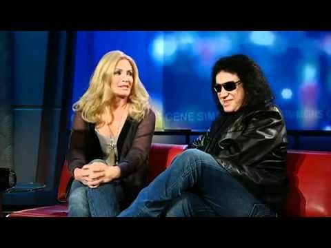 """▶ Gene Simmons and Shannon Tweed comment on their """"open"""" relationship. - YouTube"""