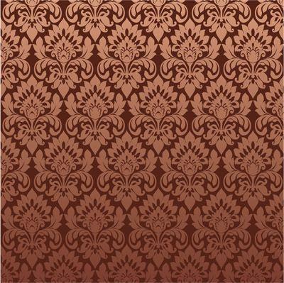 оранжевый узор на ткани