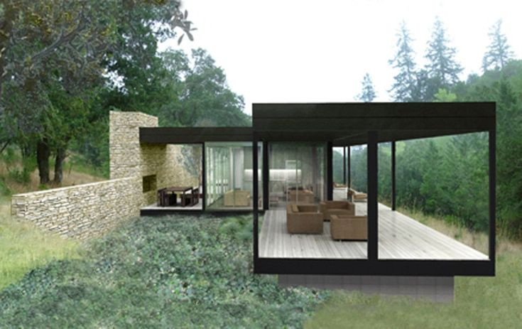 Modern Prefab House With Black Wall Color With Large Glass Wall And White Hardwood Floor Tile Together With Brown Furniture Delightful Design Ideas For Modern Prefab Houses Modern Architecture Gazebo Kit Design white gray wall large glass windows and balcony modern prefab houses brown ceiling and gray glass window frames along silver balustrade delightful minimalist house design ideas brown furniture delightful design idea . 300x189 pixels