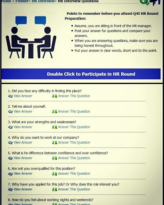 35 best Freshers Interview question images on Pinterest