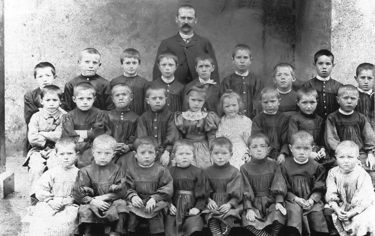 école des garçons à camurac en 1900
