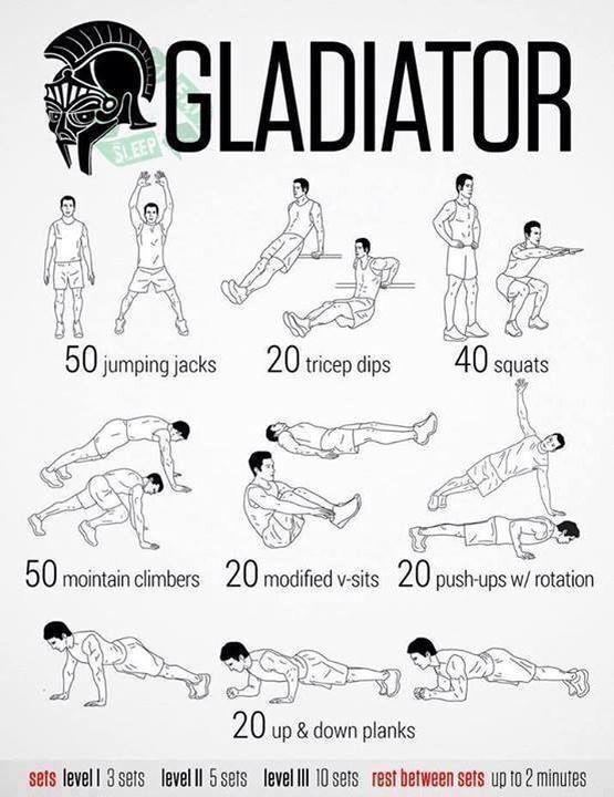 Gladiator neila rey workout neilarey workouts by