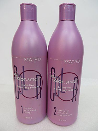 Matrix Color Smart Shampoo and Conditioner 338 oz DUO >>> undefined #ShampooandConditionerSets
