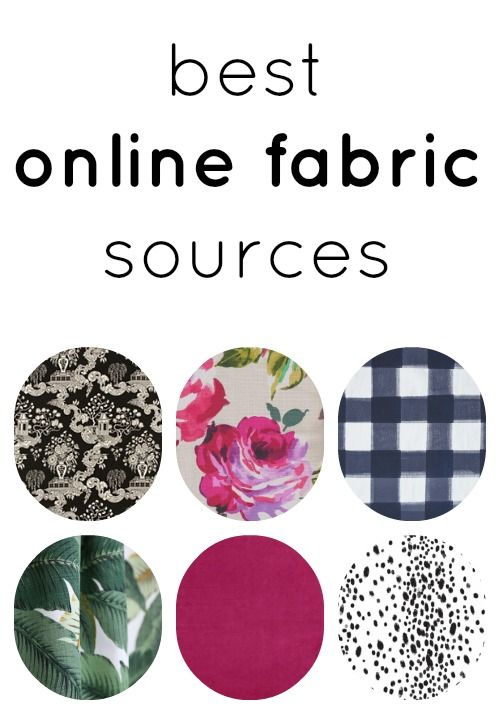 the BEST online fabric sources!