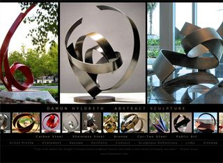 fantastic website homepage ideas. A fantastic artist website design example which puts the best work front  and center allows 96 Artist Website Designs images on Pinterest Design