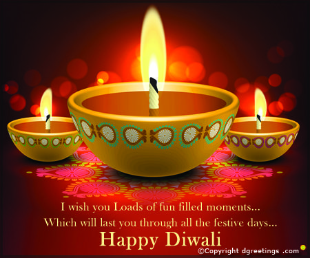 Happy and Prosperous Diwali.