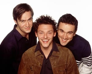 Jack Davenport, Richard Coyle and Ben Miles #Coupling