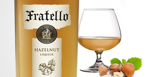 Fratello Hazelnut Liqueur - used in coffee, whip cream and chocolate jello for the Pop Rocky!