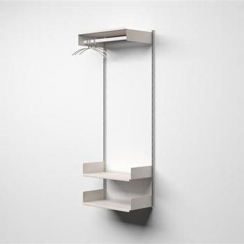 Vitsoe Starter Collection (Hanging Rails) Shelving System: Remodelista